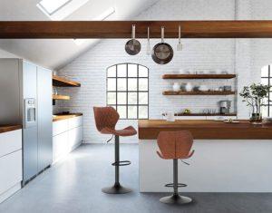 Bistrohocker, Küchenstuhl
